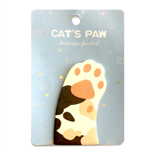 Cat's Paw Sticky Note / Style 3