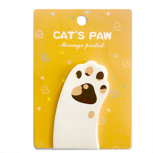 Cat's Paw Sticky Note / Style 4