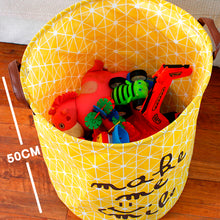 Load image into Gallery viewer, Collapsible Yellow Hamper (Restocking)