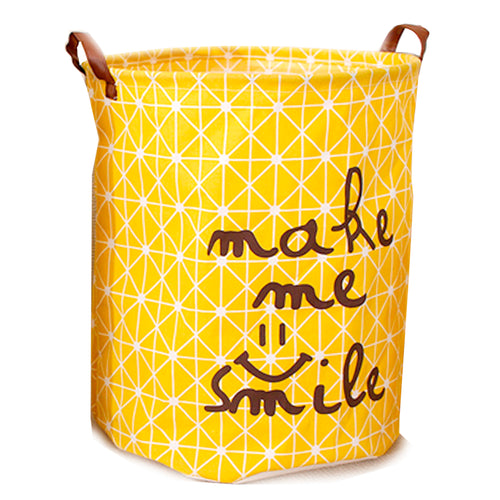 Collapsible Yellow Hamper