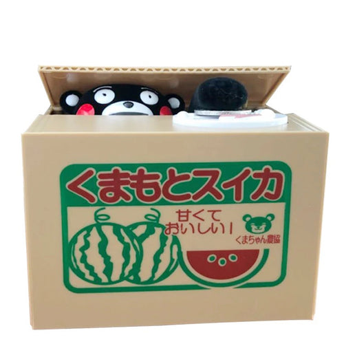 Piggy bank Kumamon (japan import)