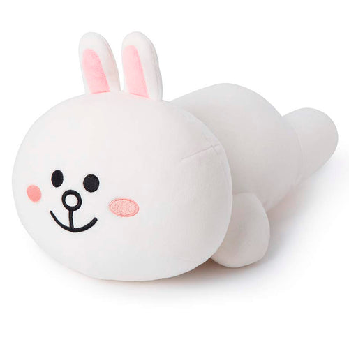 Soft Pillow - Cony Character Stuffed Cushion, White