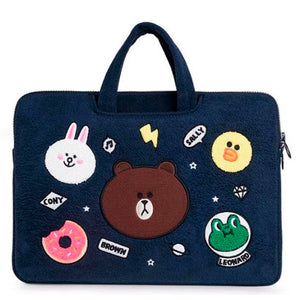 Laptop Bag Brown Cony Sally Leonard-Blue (Restocking)