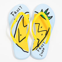Load image into Gallery viewer, Pineapple Flip Flops