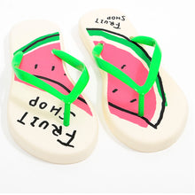 Load image into Gallery viewer, Watermelon Flip Flops