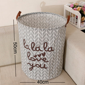 Collapsible Grey Hamper (Restocking)