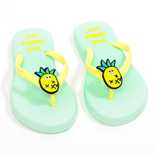 Load image into Gallery viewer, Little Pineapple Slippers