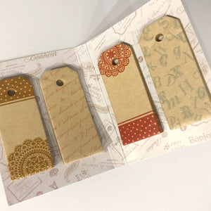 Cahier Antique Tag