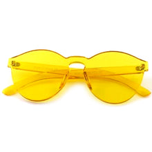 Load image into Gallery viewer, Solid Yellow Frame Sunglasses