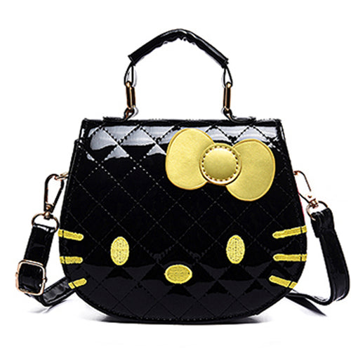 Hello Kitty Hand Bag -Black