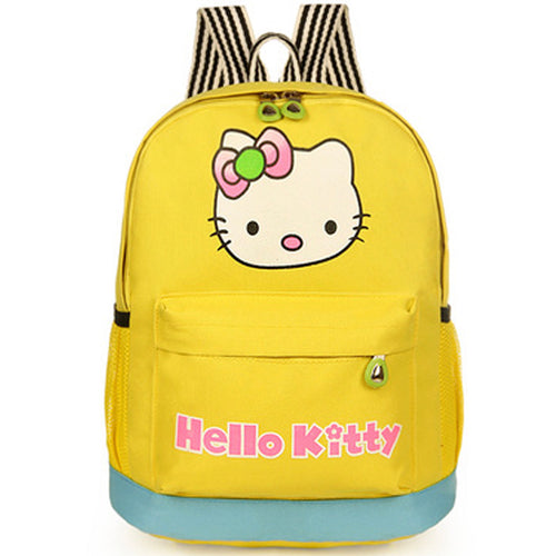 Hello Kitty Backpack-Yellow
