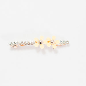 Flower Jewel Hair Clip