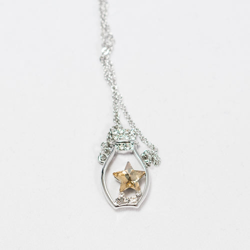 Starfish in Jar Necklace