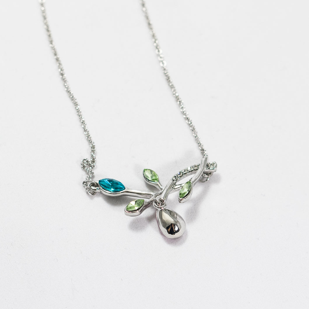 Jewel Leaf Necklace