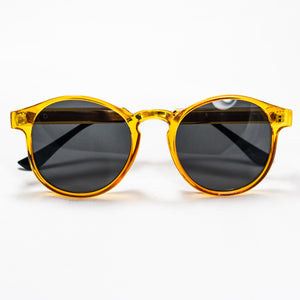 Orange Frame Sunglasses