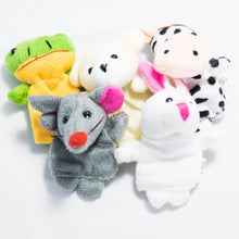 Load image into Gallery viewer, Animal Finger Puppets Set (set of 5)