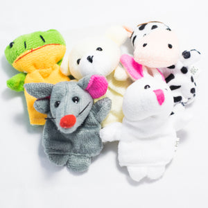 Animal Finger Puppets Set (set of 5)