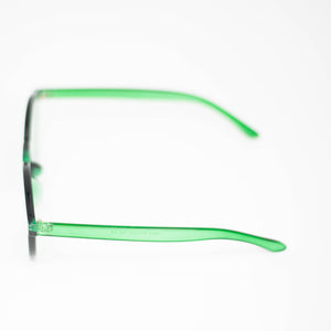 Solid Green Frame Sunglasses