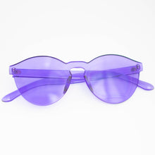 Load image into Gallery viewer, Solid Purple Frame Sunglasses