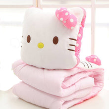 Load image into Gallery viewer, Hello Kitty Blanket Pillow