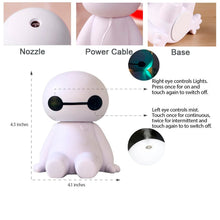 Load image into Gallery viewer, Mini Portable Humidifier 120ml Comfort Ultrasonic Cool Mist Aroma Diffuser