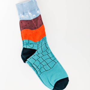 Colourblock Socks