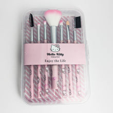 Load image into Gallery viewer, Hello Kitty 7 pcs Makeup Brushes