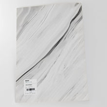 Load image into Gallery viewer, Large White Marble Notebook