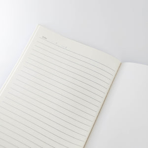 Large White Marble Notebook