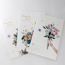 Load image into Gallery viewer, Assortment of Flowers Notebooks / set of 3