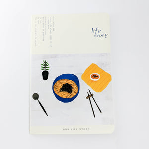 Assortment of Food Notebooks Set(4PC)