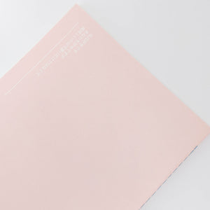 Light Pink Sushi Cat Notebook