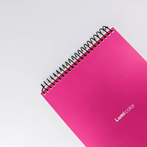 Vibrant Pink Notebook