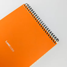 Load image into Gallery viewer, Vibrant Orange Notebook