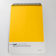 Load image into Gallery viewer, Vibrant Yellow Notebook