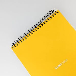 Vibrant Yellow Notebook