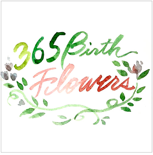 365 Birth Flower Painting (Age 16+)