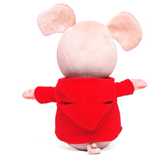 Load image into Gallery viewer, Red Sweater Pig Doll
