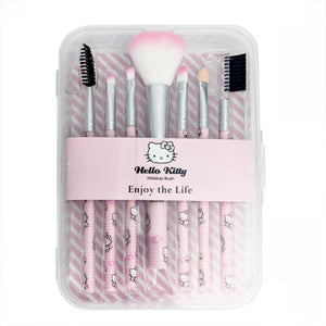 Hello Kitty 7 pcs Makeup Brushes