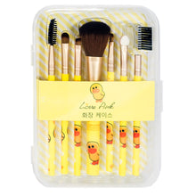 Load image into Gallery viewer, Sally 7pcs Makeup Brushes
