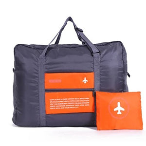 Orange Folding Travel Bag