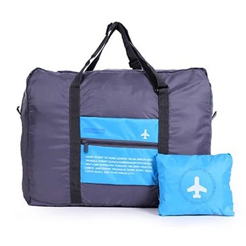 Blue Folding Travel Bag