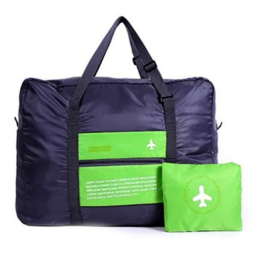Green Folding Travel Bag