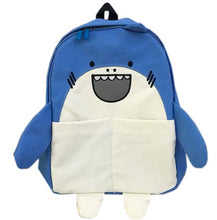 Load image into Gallery viewer, Character Animal Backpack- Blue Whale