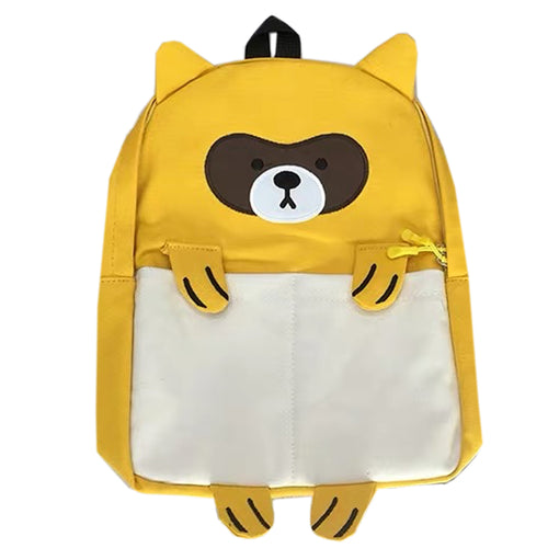 Character Animal Backpack-Raccoon