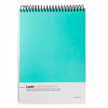 Load image into Gallery viewer, Vibrant Turquoise Notebook