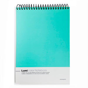 Vibrant Turquoise Notebook