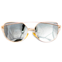 Load image into Gallery viewer, Yellow Cat-Eye Frame Sunglasses