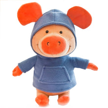 Load image into Gallery viewer, Blue Sweater Pig Doll