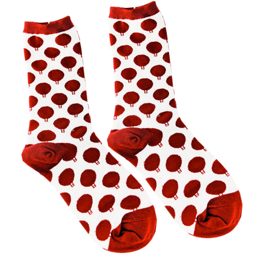 Dotted Print Socks